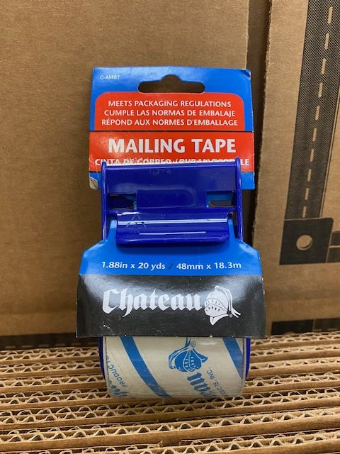 Tape  Mailing  w/ Dispenser